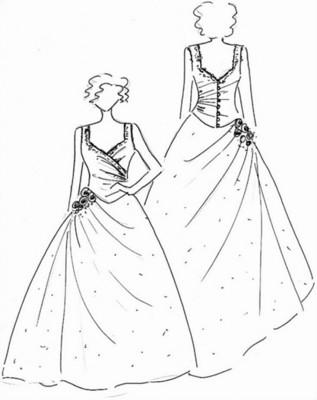 Wholesale Black Bridesmaid Dresses - Black Bridesmaid Dresses With